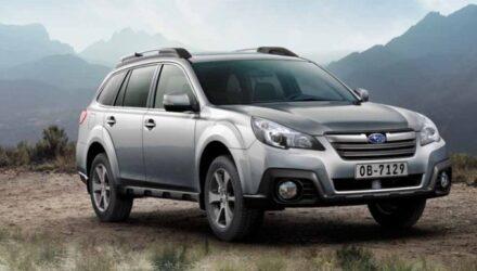 Subaru Outback 2014: Легкий макияж
