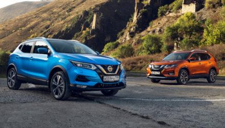 Российские Nissan Qashqai и X-Trail обрели полуавтопилот