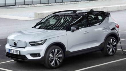 Volvo будет предлагать в России электромобили