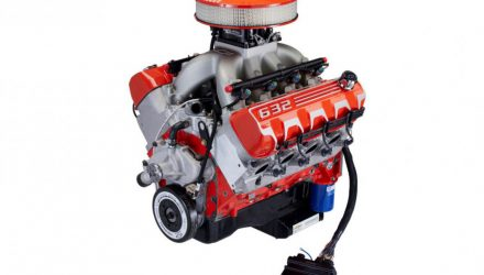 Компания Chevrolet представила мотор V8 объемом 10,4 литра