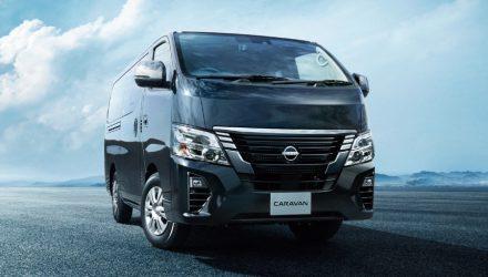 Обновленный Nissan Caravan: богаче оснащение, но без дизеля
